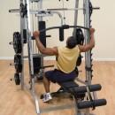 Верхняя + нижняя тяга с весовым стеком опция Body Solid GLA-348QS