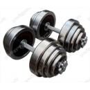 Гантели разборные по 40 кг Profigym ГРХ-40