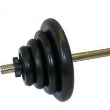 Штанга разборная 45.5 кг/31 мм Jоhns MB-45,5