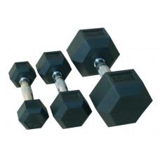 Гантельный ряд гексагональный от 1 кг - 10 кг  Jоhns 72014/1-10
