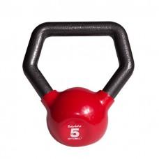 Гиря 2.3 кг с разным хватом Body Solid Kettleball KBL5