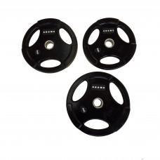 Диск/блин 2.5 кг/51 мм GROME BLACK WP074-2.5