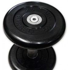 Гантель обрезиненная 6 кг Barbell MB Проф