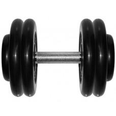 Гантель обрезиненная 23,5 кг Barbell MB Проф