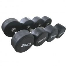 Гантельный ряд от 2 кг - до 10 кг, шаг 2 кг Jоhns 74012/2-10