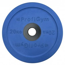 Диск/Блин 20 кг/51 мм синий Profigym ДОЦ-20/51