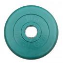 Диск/Блин 10 кг зеленый Profigym ДТРЦ-10
