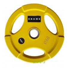 Диск/блин 15 кг/51 мм GROME COLOUR WP074-15