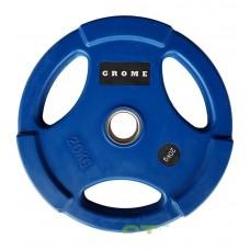 Диск/блин 20 кг/51 мм GROME COLOUR WP074-20