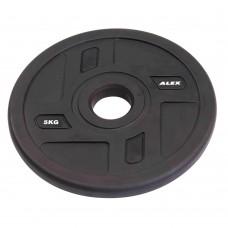 Диск/Блин 5 кг/51 мм Alex P-TPU-5K
