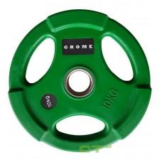 Диск/блин 10 кг/51 мм GROME COLOUR WP074-10