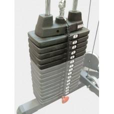 Весовой стек 22 кг Body Solid SP50