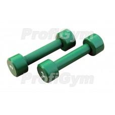 Гантели для фитнеса 2 кг Profigym ГНП-2
