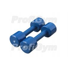 Гантели для фитнеса 4 кг Profigym ГНП-4