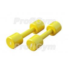 Гантели для фитнеса 5 кг Profigym ГНП-5