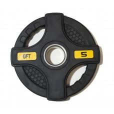 Диск/Блин 5 кг/51 мм Fitness Tools FT-2HGP-5
