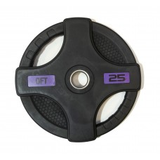 Диск/Блин 25 кг/51 мм Fitness Tools FT-2HGP-25