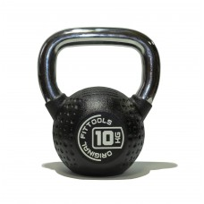Гиря 10 кг полиуретановая Fitness Tools FT-KB-CPU-10