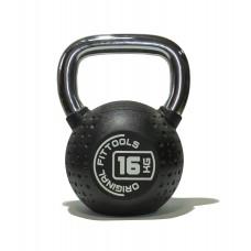 Гиря 16 кг полиуретановая Fitness Tools FT-KB-CPU-16