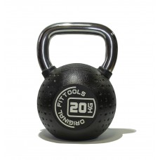 Гиря 20 кг полиуретановая Fitness Tools FT-KB-CPU-20