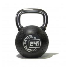 Гиря 24 кг полиуретановая Fitness Tools FT-KB-CPU-24