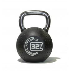 Гиря 32 кг полиуретановая Fitness Tools FT-KB-CPU-32