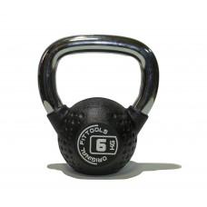 Гиря 6 кг полиуретановая Fitness Tools FT-KB-CPU-6