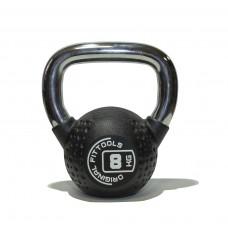 Гиря 8 кг полиуретановая Fitness Tools FT-KB-CPU-8