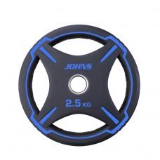 Блин/диск 2,5 кг/51 мм Jоhns 91030-2,5ВC