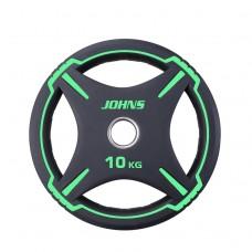 Блин/диск 10 кг/51 мм Jоhns 91030-10ВC