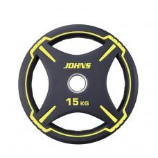 Блин/диск 15 кг/51 мм Jоhns 91030-15ВC