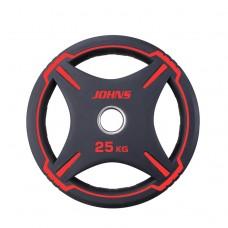 Блин/диск 25 кг/51 мм Jоhns 91030-25ВC