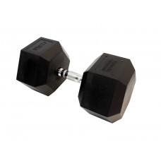Гантель гексагональная 42.5 кг Fitness Tools FT-HEX-42,5
