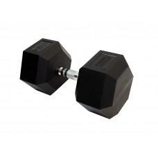 Гантель гексагональная 37.5 кг Fitness Tools FT-HEX-37,5
