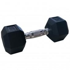 Гантели гексагональные по 9 кг DFC DB001-9