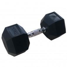 Гантели гексагональные по 20 кг DFC DB001-20