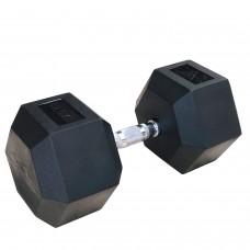 Гантели гексагональные по 42.5 кг DFC DB001-42.5
