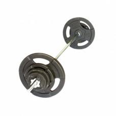 Штанга разборная прямая 107 кг/26 мм Record/MironFit-107