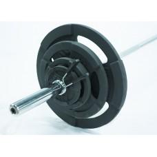 Штанга разборная 120 кг/51 мм Record/MironFit-120