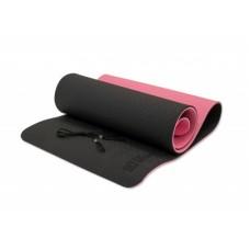 Коврик для йоги Fitness Tools FT-YGM10-TPE-BPNK